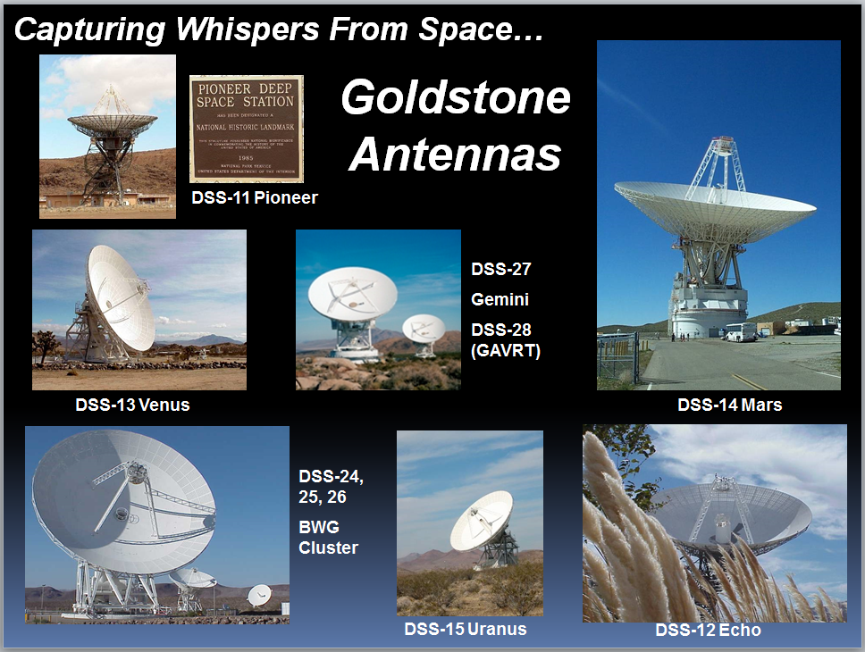 Goldstone Antennas